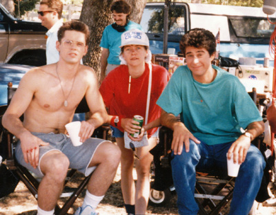 C Thomas Howell, Jan Byers and Jonathan Silverman