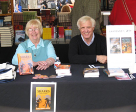 Nancy Raven Smith with Larry Levy at LA Time Book Faire