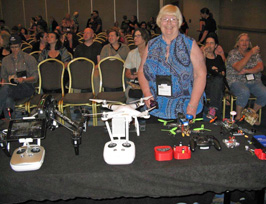 Arial Drones at Writers Police Academy 2016